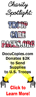 Charity spotlight - Boots for Troops! DocuCopies.com Donates $2K to Send Boots to Deployed US Troops